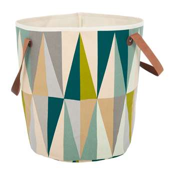 Ferm Living - Spear Organic Cotton Basket (H40 x W35 x D35cm)