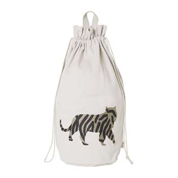 Ferm Living - Tiger Safari Storage Bag (H50 x W24 x D24cm)