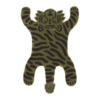 Ferm Living - Tiger Safari Tufted Rug (H160 x W120cm)