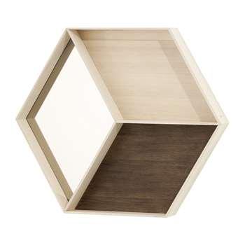 Ferm Living - Wonder Wall Mirror - Maple (60 x 50cm)