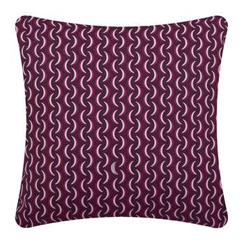 Fermob - Bananes Outdoor Cushion - Plum (H45 x W45cm)