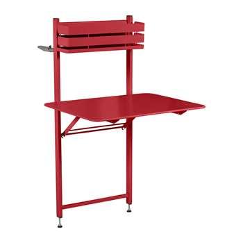 Fermob - Bistro Balcony Table - Poppy (H120 x W77 x D57cm)