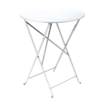 Fermob - Bistro Garden Table - 60cm - Cotton White (H74 x W60 x D60cm)