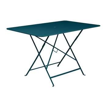 Fermob - Bistro Garden Table - Acapulco Blue (H74 x W117 x D77cm)