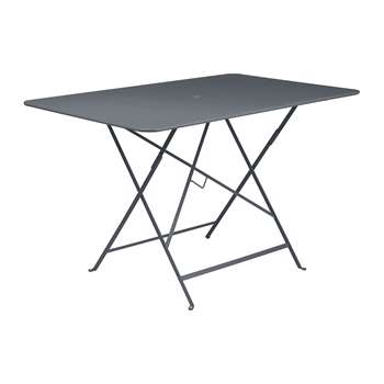 Fermob - Bistro Garden Table - Anthracite (H74 x W117 x D77cm)