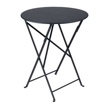 Fermob - Bistro Garden Table - Anthracite (H74 x W60 x D60cm)