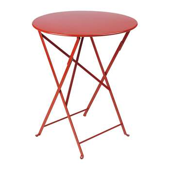 Fermob - Bistro Garden Table - Poppy (H74 x W60 x D60cm)
