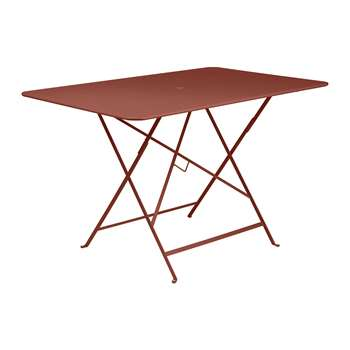 Fermob - Bistro Garden Table - Red Ochre (H74 x W117 x D77cm)