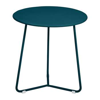 Fermob - Cocotte Side Table - Acapulco Blue (Height 36cm)