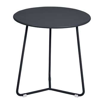 Fermob - Cocotte Side Table - Anthracite (H36 x W34 x D34cm)