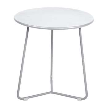 Fermob - Cocotte Side Table - Cotton White (H36 x W34 x D34cm)