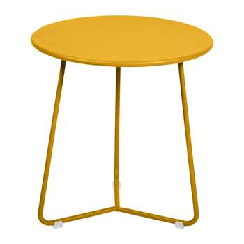 Fermob - Cocotte Side Table - Honey (H36 x W34 x D34cm)