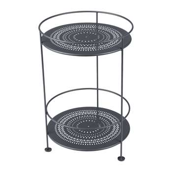 Fermob - Guinguette Side Table - Anthracite (H62 x W40 x D40cm)