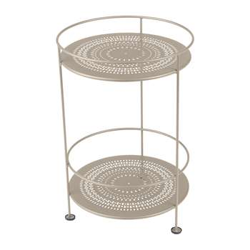 Fermob - Guinguette Side Table - Nutmeg (H62 x W40 x D40cm)