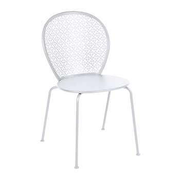 Fermob - Lorette Garden Chair - Cotton White (H84 x W46 x D42cm)