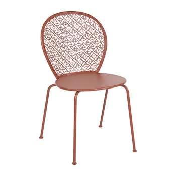 Fermob - Lorette Garden Chair - Red Ochre (H84 x W46 x D42cm)