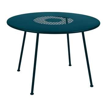 Fermob - Lorette Garden Table - Acapulco Blue (H74 x W160 x D90cm)