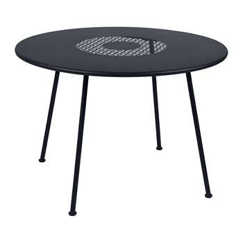 Fermob - Lorette Garden Table - Anthracite (H74 x W160 x D90cm)