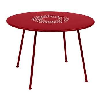 Fermob - Lorette Garden Table - Poppy (H74 x W160 x D90cm)