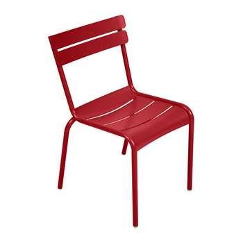 Fermob - Luxembourg Garden Chair - Poppy (H88 x W49 x D57cm)