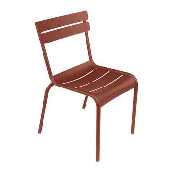 Fermob - Luxembourg Garden Chair - Red Ochre (H88 x W49 x D57cm)