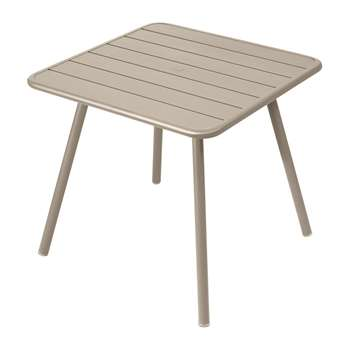 Fermob - Luxembourg Garden Table - Nutmeg (H74 x W80 x D80cm)