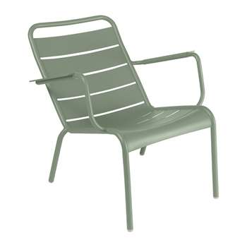 Fermob - Luxembourg Low Armchair - Cactus (H72 x W69 x D86.5cm)