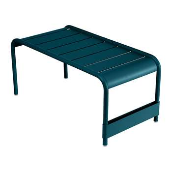 Fermob - Luxembourg Low Table - Acapulco Blue (H40 x W86 x D43cm)