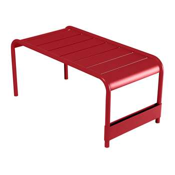 Fermob - Luxembourg Low Table - Poppy (H40 x W86 x D43cm)