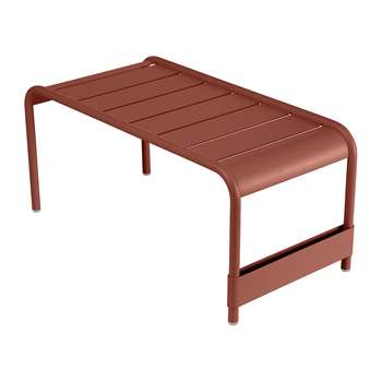 Fermob - Luxembourg Low Table - Red Ochre (H40 x W86 x D43cm)