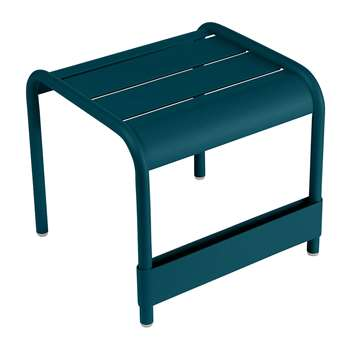 Fermob - Luxembourg Side Table - Acapulco Blue (H40 x W43 x D42cm)