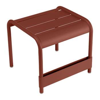 Fermob - Luxembourg Side Table - Red Ochre (H40 x W43 x D42cm)