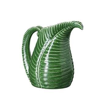 Fern Jug - Leaf Green (20 x 23cm)