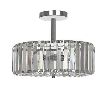 Fernhurst Crystal Pendant Light (27 x 34cm)