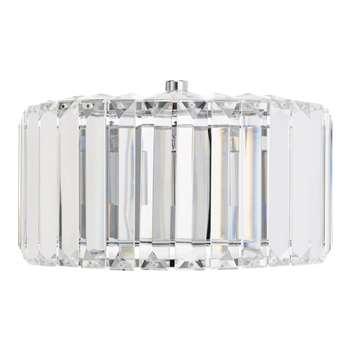 Fernhurst Crystal Pendant Wall Light (13.8 x 24.5cm)