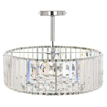 Fernhurst Large Crystal Pendant Light (30 x 45cm)