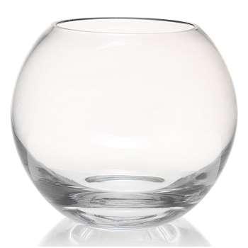 Fishbowl Vase, Clear (16.5 x 19.7cm)