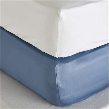 Fitted Sheets - Set of 2, Moonlight Blue
