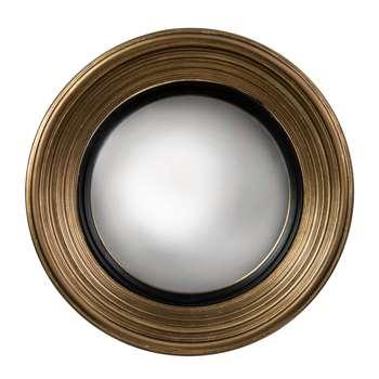 Fitzroy Convex Mirror - Gold (51 x 51cm)