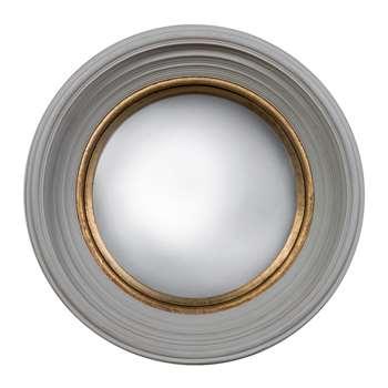 Fitzroy Convex Mirror - Grey (51 x 51cm)