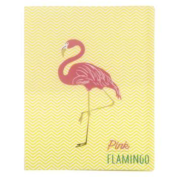 FLAMINGO Pink Flamingo Print Magazine Rack (30.7 x 23.5cm)