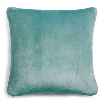 Fleece Cushion, Duck Egg (H43 x W43cm)