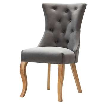 Florence Chair Grey (H98 x W54 x D50cm)