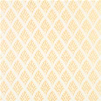 Florin Pale Gold Wallpaper