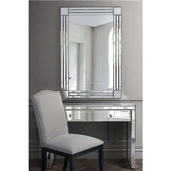 FLOW Rectangle Wall Mirror (100 x 70cm)