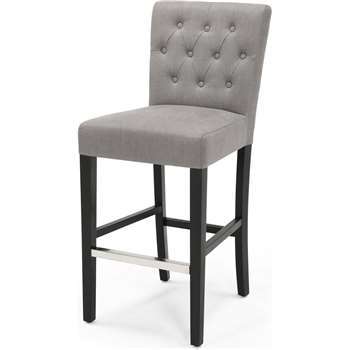 Flynn Bar Stool, Graphite Grey (105 x 44cm)