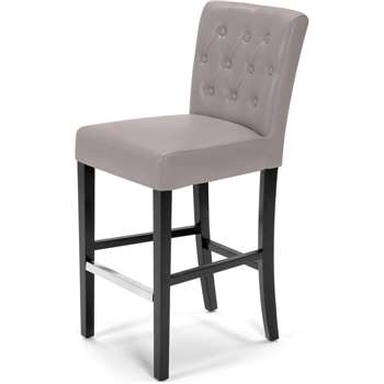 Flynn Bar Stool, Pewter Grey (105 x 44cm)