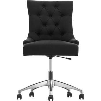 Flynn Office Chair, Midnight Black
