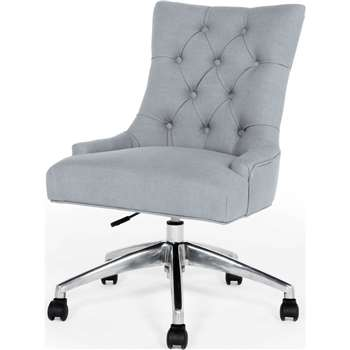 Flynn Office Chair, Persian Grey (91-101 x 56cm)