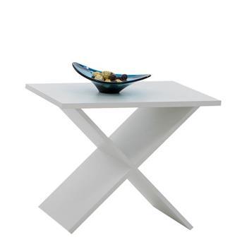 FMD Möbel Phil 628-001 Side Table 54.5 x 43.0 x 38.5cm White